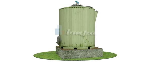 Биореактор для утилизации навоза КРС