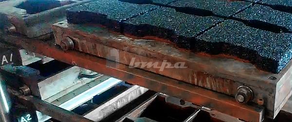 Оборудования для производства резиновой плитки