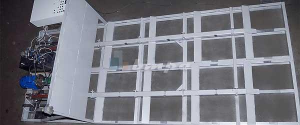 Механизированный топливный склад напольного бестарного хранения живое дно