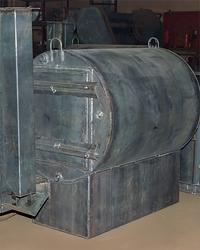 Бытовая углевыжигательная печь на 1 м3 дров