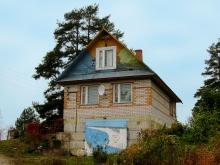 Кирпичный дом в деревне Заречье