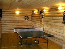 Комната для тенниса в бане