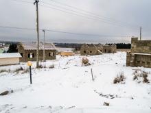 Первые дома в коттеджном поселке