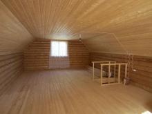 Внутренняя отделка домов деревом