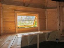 Внутренняя отделка гриль домиков и беседок