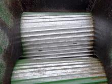 Истирающие вальцы на линии по переработке автомобильных шин