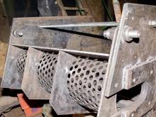 Производство однороторного шредера