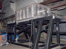 Сборка двухвального шредера