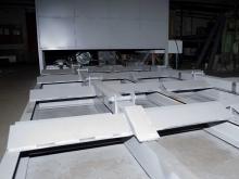 Топливно сырьевой склад живое дно для напольного бестарного хранения