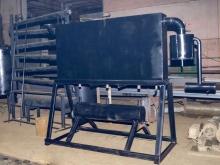 Система охлаждения и конденсации пиролизных газов