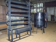 Система конденсации пиролизных газов