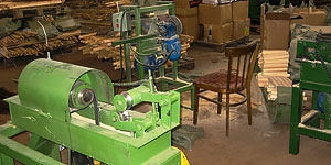 Линия по производству черенков для лопат