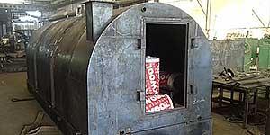 Новые углевыжигательные печи для производства древесного угля