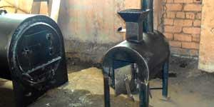 Дачный бытовой утилизатор